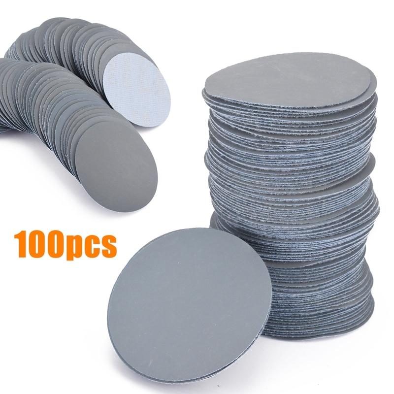 100pcs 3000Grit Sander Disc 3inch Sanding Paper Polishing Pads Sandpaper Sanding Disc For Abrasive Sanding Tools