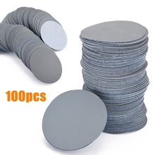 100pcs 3000Grit Sander Disc 3inch Sanding Paper Polishing Pads Sandpaper for Abrasive Tools