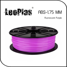 Worldwide Fast Delivery Direct Manufacturer 3D Printer Material 1 kg 2.2 lb 1.75mm Fluorescent Purple ABS Filament