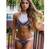 Sexy Bandeau Print Brazilian Bikini 3