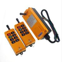 HS 8 8 keys industrial remote controller switch 2 transmitter + 1 receiver Crane Transmitter DC 24v