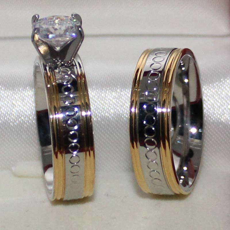 Male And Female Wedding Ring Sets Unique Wedding Ideas