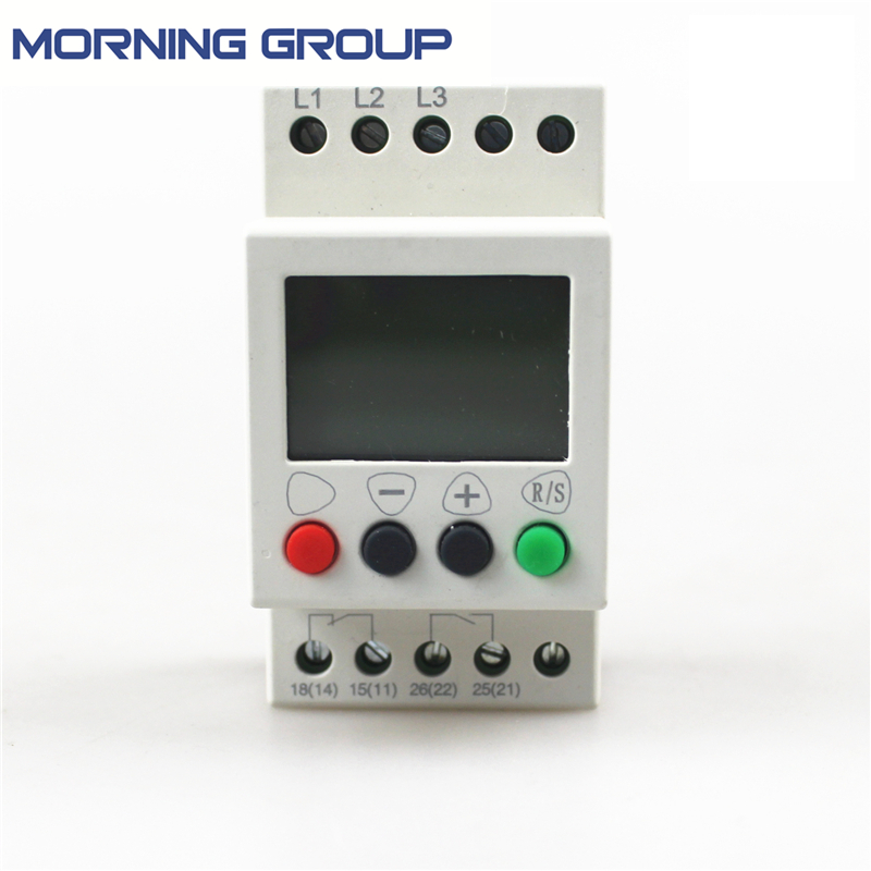 JVR1000 Multifunction 3-Phase Sequence Protection Relay With Counting And Timing gkr 02 voltage monitoring device relay gkr 02 phase failure and phase sequence protection relay for motor protection