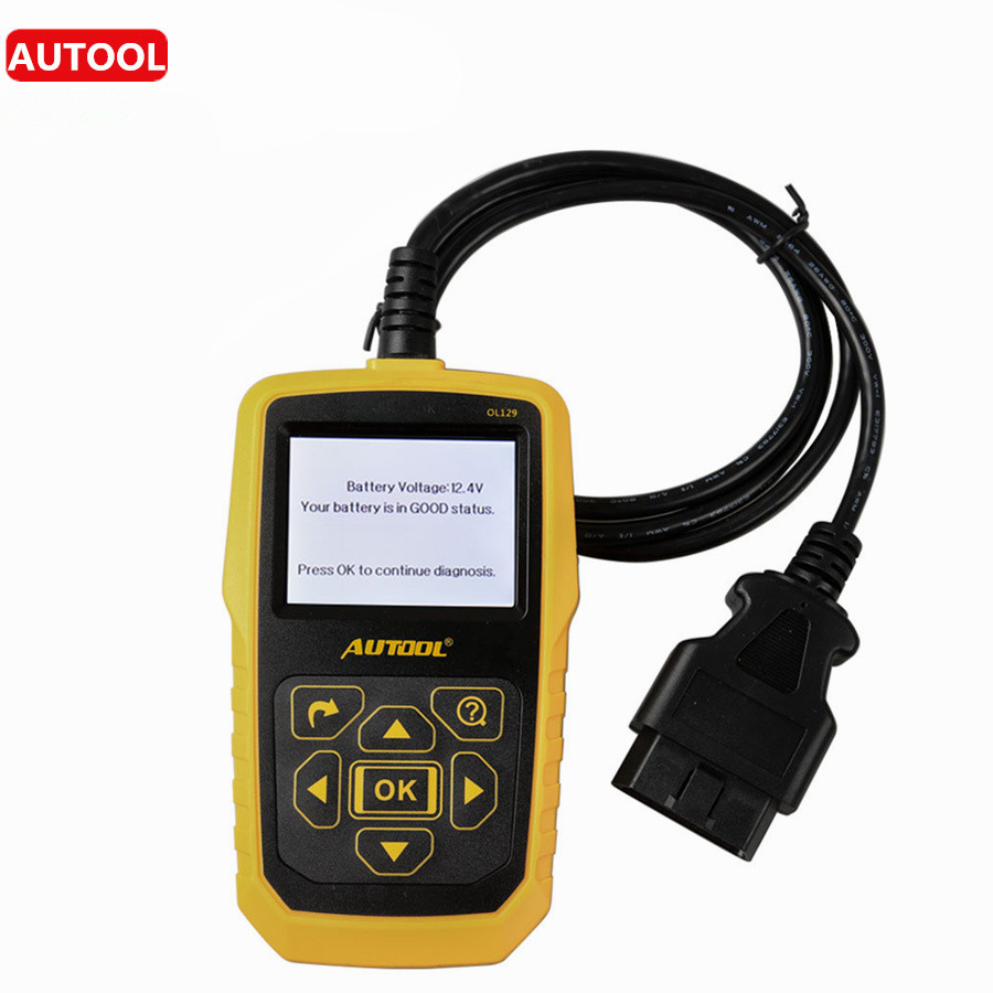 Autool ol129 trouble codes analysis auto battery monitor tester engine diagnostic scan repair tool ol129