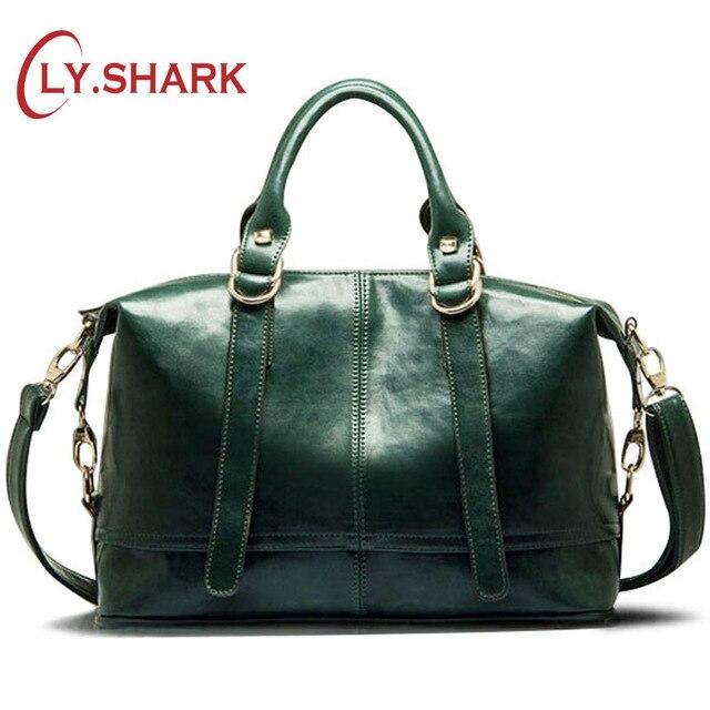 LY.SHARK Big Cheap Women Bags Female Bag PU Leather Crossbody Messenger Bag Women Shoulder Handbags Boston Green Famous Brand