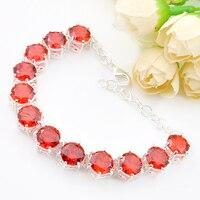 Bohemen Sieraden Superb Mooie rode Crystal Armband Unieke Mode Armbanden Voor Moeder Gift Gratis Verzending b1111