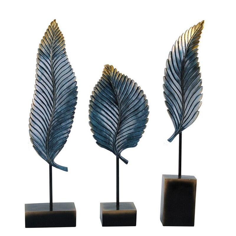 beste kopen interieur decoratie bladeren woondecoratie accessoires slaapkamer kamer gepersonaliseerde gift woninginrichting decor beeldjes miniatu goedkoop