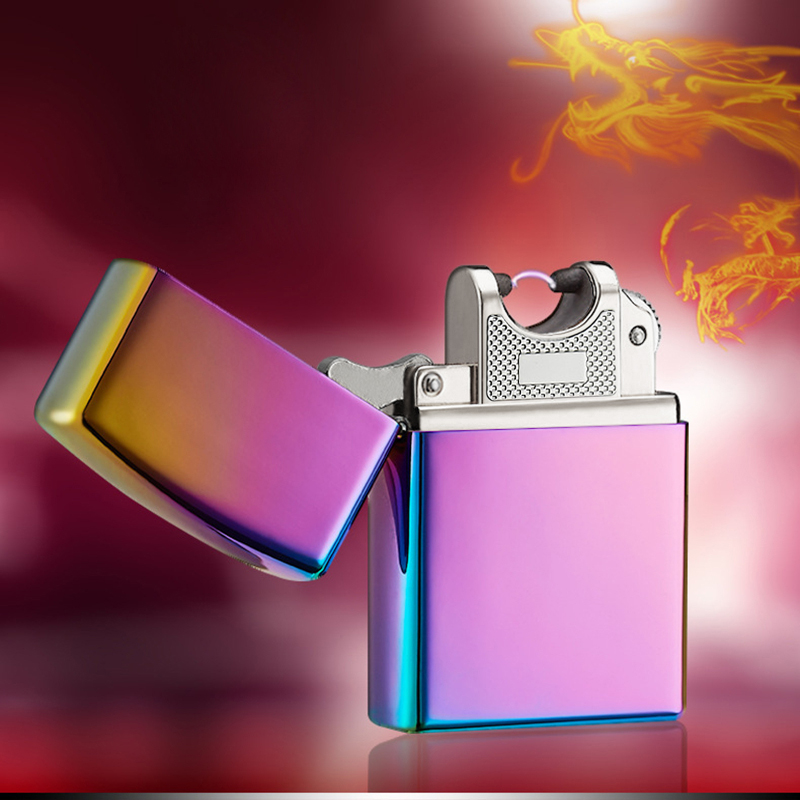 Electronic-Cigarette-lighter-Pulsed-Arc-Slim-Windproof-cigar-Lighter-USB-Rechargeable-Flameless-Electric-Arc-Smoking-Lighter (2)