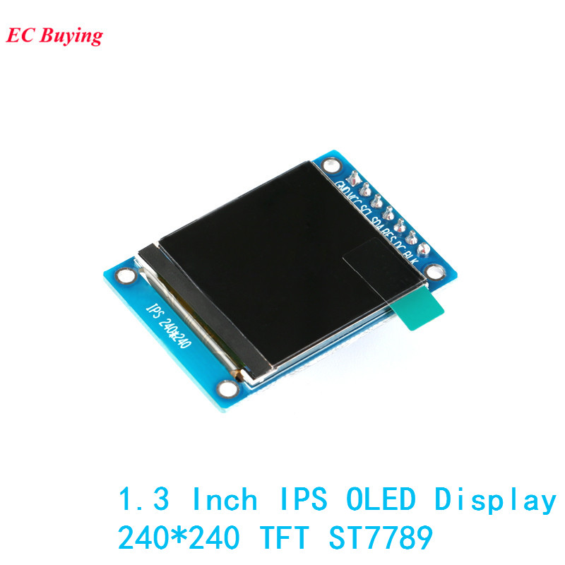 1.3 Inch IPS OLED Display Module 240*240 RGB TFT for Arduino DIY LCD Board ST7789 7Pin 4 ...