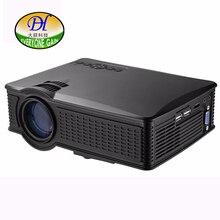 Todos Ganan 1500 lúmenes Proyector de la Ayuda HD 1080 P Móvil Mini51 + Proyector de Cine En Casa Proyector 150 pulgadas de Imagen de Gran Tamaño