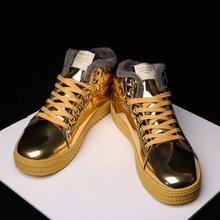 GNOME mężczyźni buty ciepłe męskie zimowe buty Plus rozmiar 38-47 kostki Botas Hombre na zimowe buty buty mężczyźni przyczynowe pluszowe trampki mężczyźni tanie tanio Dla dorosłych Krótki pluszowe Niska (1 cm-3 cm) Gumy Zima 18-11-29-04 Lace-up Wiązanej krzyżowe Okrągły nosek Pasuje prawda na wymiar weź swój normalny rozmiar