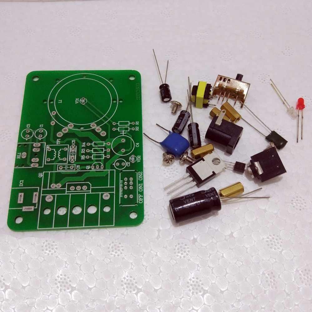 Mini Tesla Coil Plasma Speaker Electronic Kit 15W DIY Kits BL