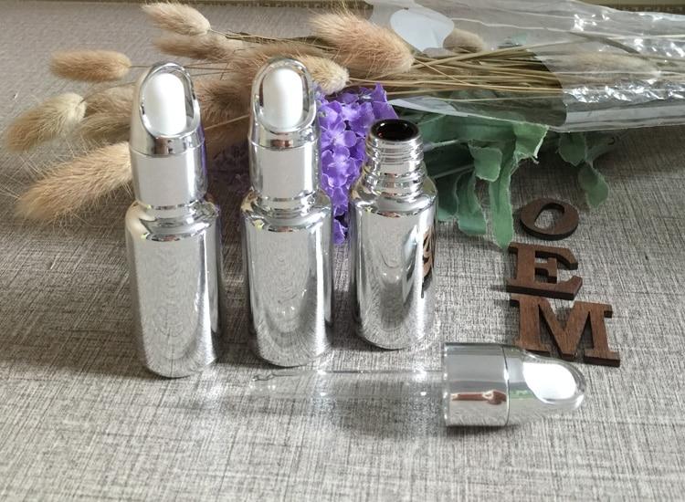 groothandel zilveren mand deksel 15 ml essentie kleine glazen - Huidverzorgingstools - Foto 1