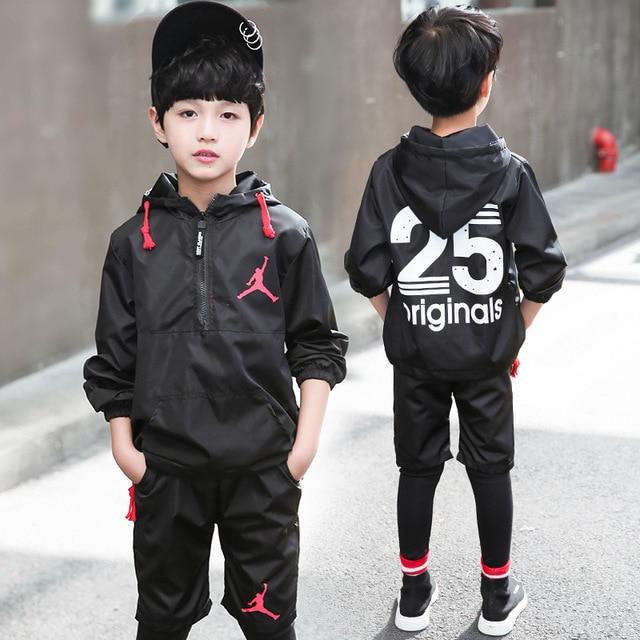 85735cd3e23 abay Sportswear kids clothing set boys girls fashion handsome long sleeves  long pants