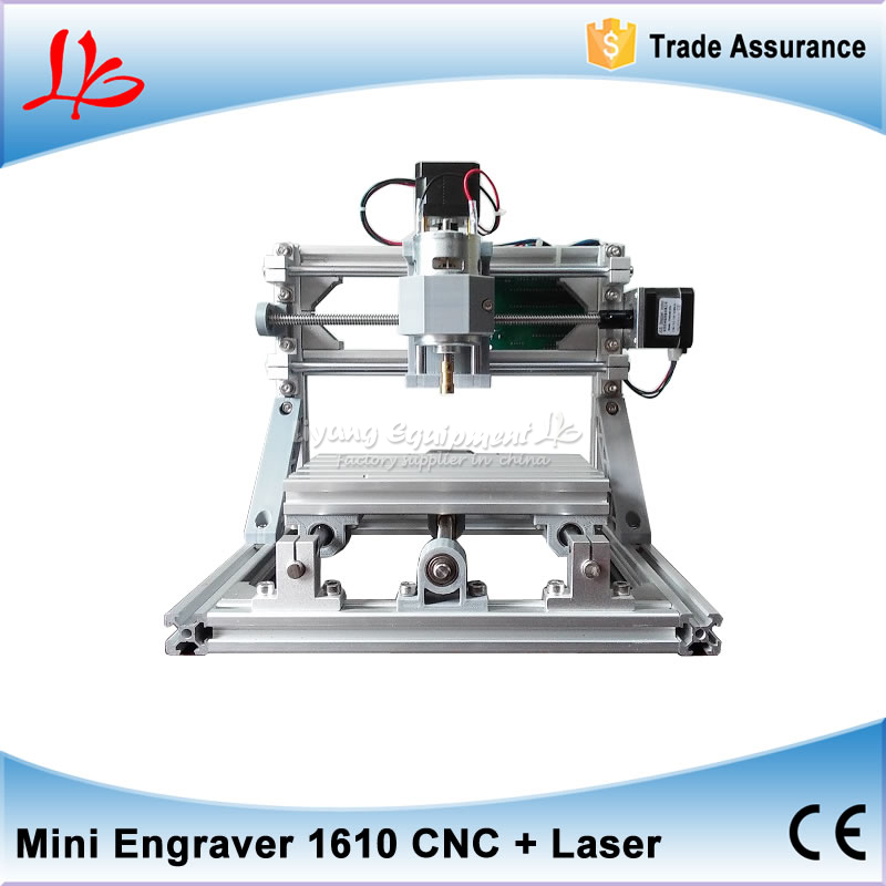 2PCS mini CNC 1610 2500mw laser diy mini cnc router Pcb Milling Machine Wood Carving machine with GRBL control 1610 diy mini cnc router 500mw laser engraving machine grbl control for pcb milling machine wood carving