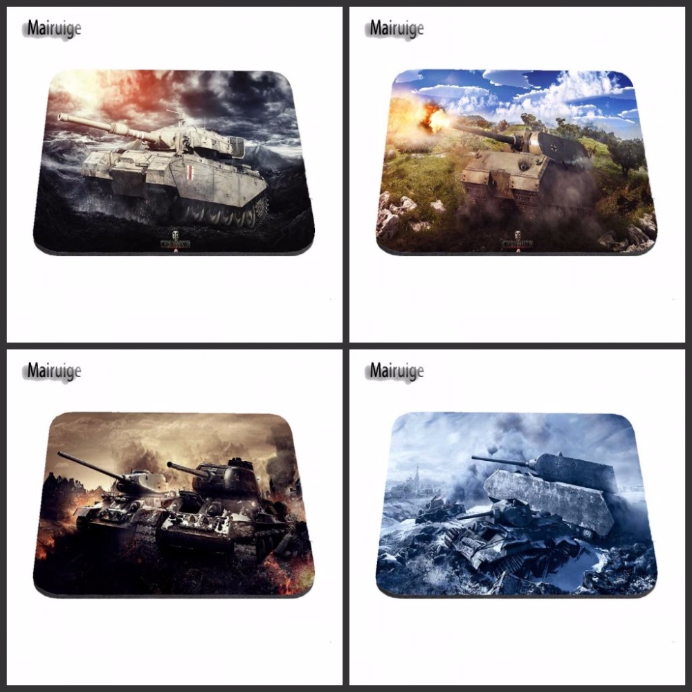 New Arrivals Gaming Rubber Mouse Pad Notbook Computer Optical Stitched Edge Mousepad Gamer World of Tanks Speed Mice Play mat
