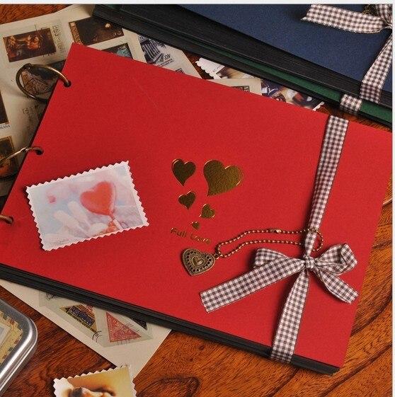 Env o gratis vintage hechos a mano lbum de fotos de boda - Decoracion de album de fotos ...
