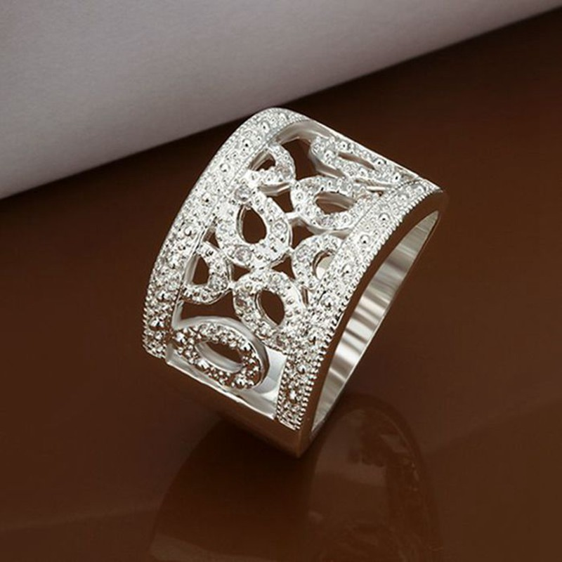 Ring Silver Plated Ring sterling-silver-jewelry ring factory prices fashion ring /VQSKXSHB YZFZNBLF