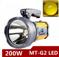200 Вт высокой мощности портативный фонарь аккумуляторная водонепроницаемый прожектор настольная лампа сбоку света США/EU зарядное устройст