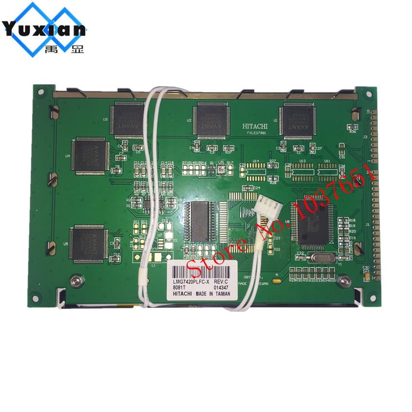 LMG7420PLFC-X 240*128 LMG7420PLFC X LMG7400PLFC/LMG7410PLFC FSTN négatif noir écran LCD 1 pièces livraison gratuite - 2