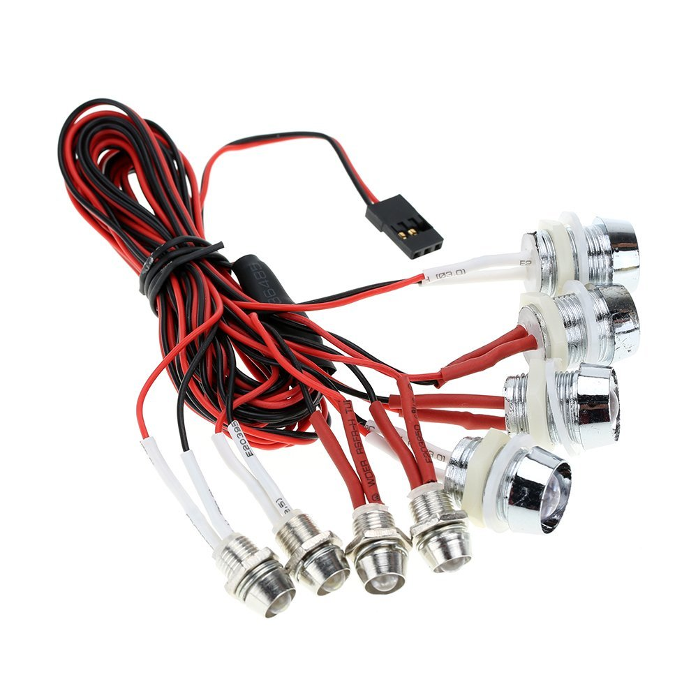 EBOYU(TM) G.T.POWER L8 LED Light System for RC Car Truck Model