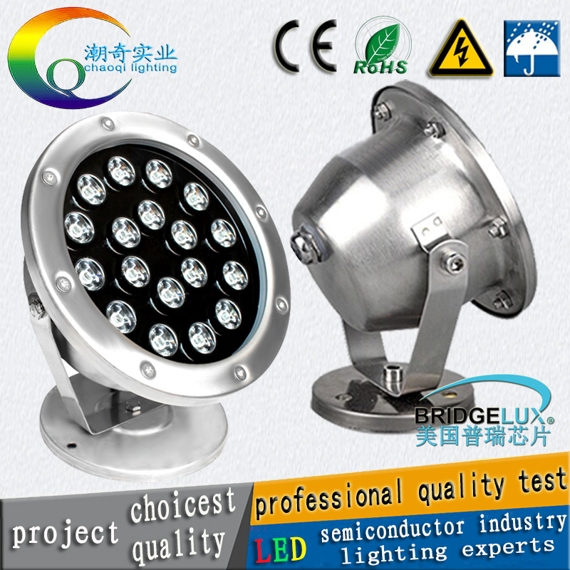 CP 6w 12W 18w 24w 36w IP68 led underwater Light RGB led light light colorful water led p ...