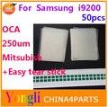 50 шт. Бесплатная Доставка 6.3 ''дюймовый ОСА оптический чистый клей. двухсторонняя наклейка для Samsung Galaxy Mega 6.3 i9200. 250um толщиной