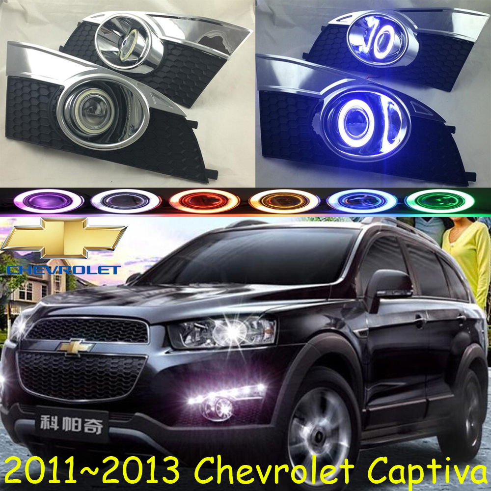 Captiva fog light,2011~2013,Free ship!Captiva daytime light,2ps/set+wire ON/OFF:Halogen/HID XENON+Ballast,Captiva 2011 2013 vw golf6 daytime light free ship led vw golf6 fog light 2ps set vw golf 6