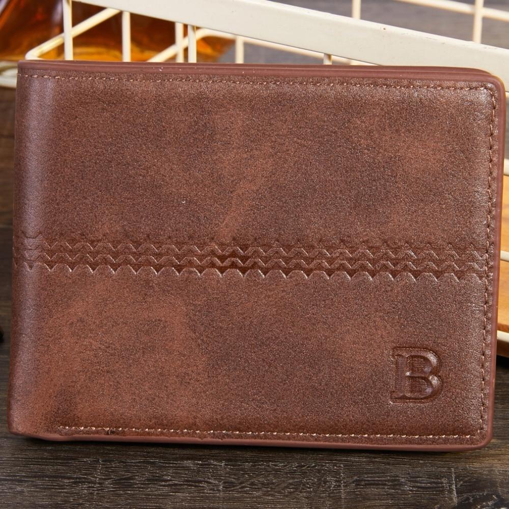 RFID Fashion Embossing 2019 New Men Wallets Small Men Money Purse Coin Bag Short Male Wallet Card Holder Slim Purse Money Wallet