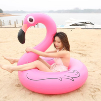120cm Pink Inflatable Giant Pool Float Mattress Island Swimming Ring Circle Summer Water Fun Toy Beach Party swim laps