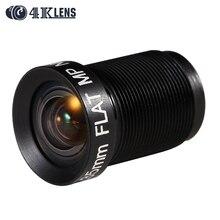 4 K LENS için 4.35 MM Haritalama Lens Düz Kırmızı NDVI M12 GoPro/DJI Phantom 3/4 İHA Mikro Kameralar modifiye ve Tarım 2016