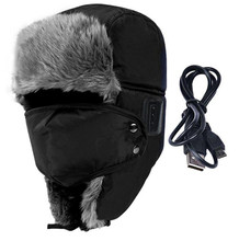 Winter   Soft Smart Bluetooth V3.0 Earphone Cap,Speaker Mic,Thicken Fur,Handfree Headset Bomber Hats,Warmer Face&Ear