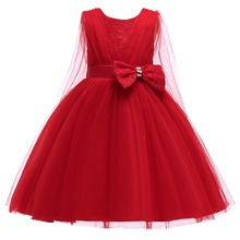 2019 Summer Flower Girl Princess Tutu Lace Dress Cute toddler kids Pageant Wedding Bridesmaid Dress for Girls Ball Gown Dresses цена в Москве и Питере