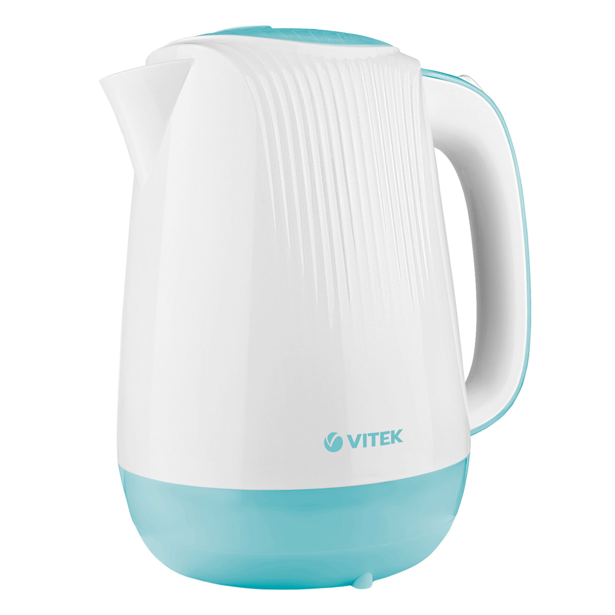 Electric kettle VITEK VT-7059 W (Power 2200 W, volume 1.7 liters, light, filter, 360 ° rotation) kettle electric galaxy gl0300 red power 2000 w volume 1 8л double wall of stainless steels