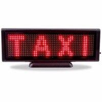 8 6x3 inch ROTE led anzeigetafel usb lade scrollen programmierbare Mobile roll informationen indoor Mini shop führte zeichen|LED-Anzeige|   -