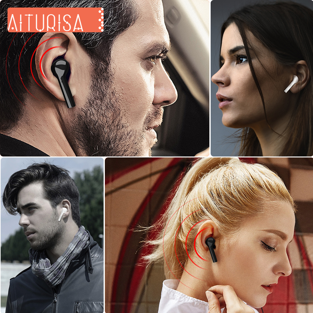Image 5 - Bluetooth 5.0 Headphones 3D Deep Bass Wireless Earphone HIFI Earpiece Built in Mic With Portable Charging Box For all Smartphone-in Bluetooth Earphones & Headphones from Consumer Electronics