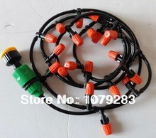 10m hose WITH nozzles Drip Irrigation System Micro Drip Irrigation System MIST SPRINKLER