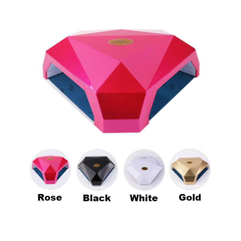 60W 2 Hands LED UV Lamp Nail Dryer Gel Polish Curing Machine Nail Art Manicure Tool Gift60W 2 Hands LED UV Lamp Nail Dryer Gel Polish Curing Machine Nail Art Manicure Tool Gift