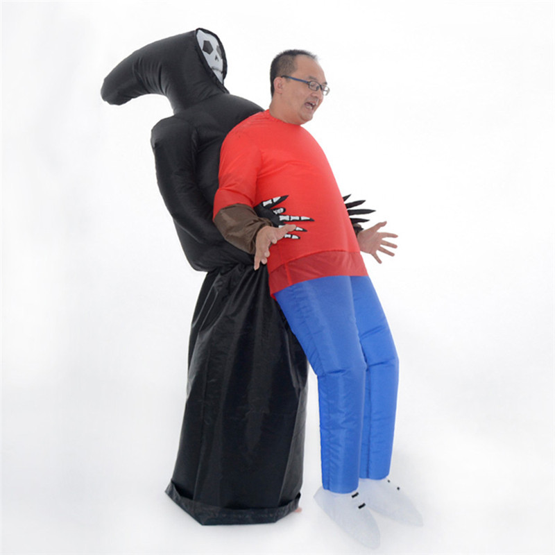 Halloween Horror Shape Inflatable Props Toy Halloween Ghost Party Prank Scenario Costume Prop Adult Gags Toys цена