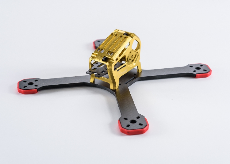 TransTEC ZORO 5inch 195 6inch 220 FPV Racing Drone 3k Carbon Fiber Frame Kit with CNC