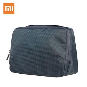 Image 2 - Xiaomi bolsa de cosméticos original, bolsa feminina de 3l para maquiagem, bolsa de viagem, impermeável