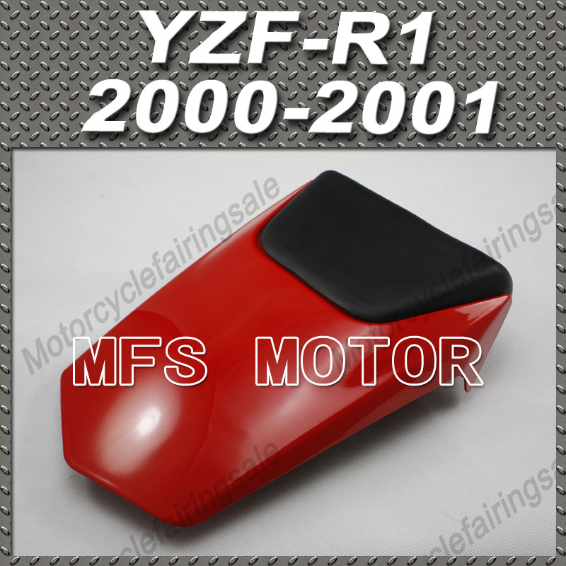 For YZF-R1 Motorcycle Rear Pillion Red Injection ABS Seat Cowl Cover For Yamaha YZF-R1 2000-2001