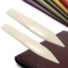 1pc New Leather Craft Tools Bone Folder For Leather Scoring Folding Creasing Paper Home Handmade Accessories YH-459482 стоимость