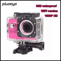 WiFi Version 30M Waterproof HD Sports DV Action Camera 1080P Video Camera DVR Camcorder Mounting Kit