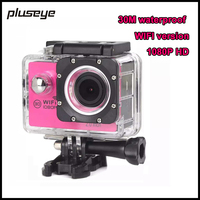 WiFi Version 30M Waterproof HD Sports DV Action Camera 1080P Video Camera DVR Camcorder Mounting Kit