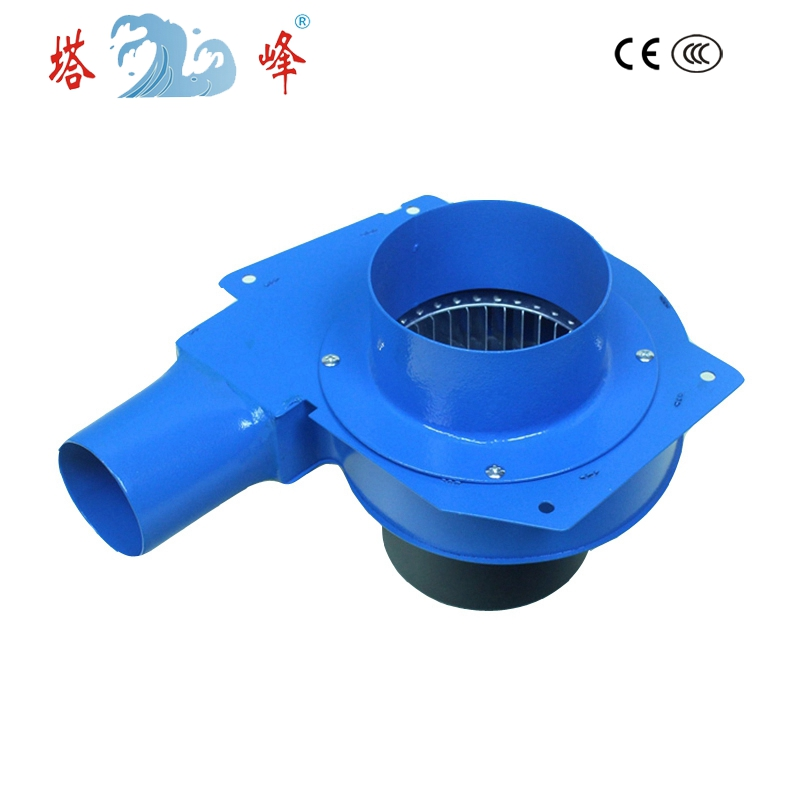 TAFENG China 220v small grill pipe centrifugal gas smoke vacuum soot exhasut blower fan 60w 80w 60mm pipe small hot smoke gas lampblack extraction snail centrifugal ventilation fan blower dc 12v
