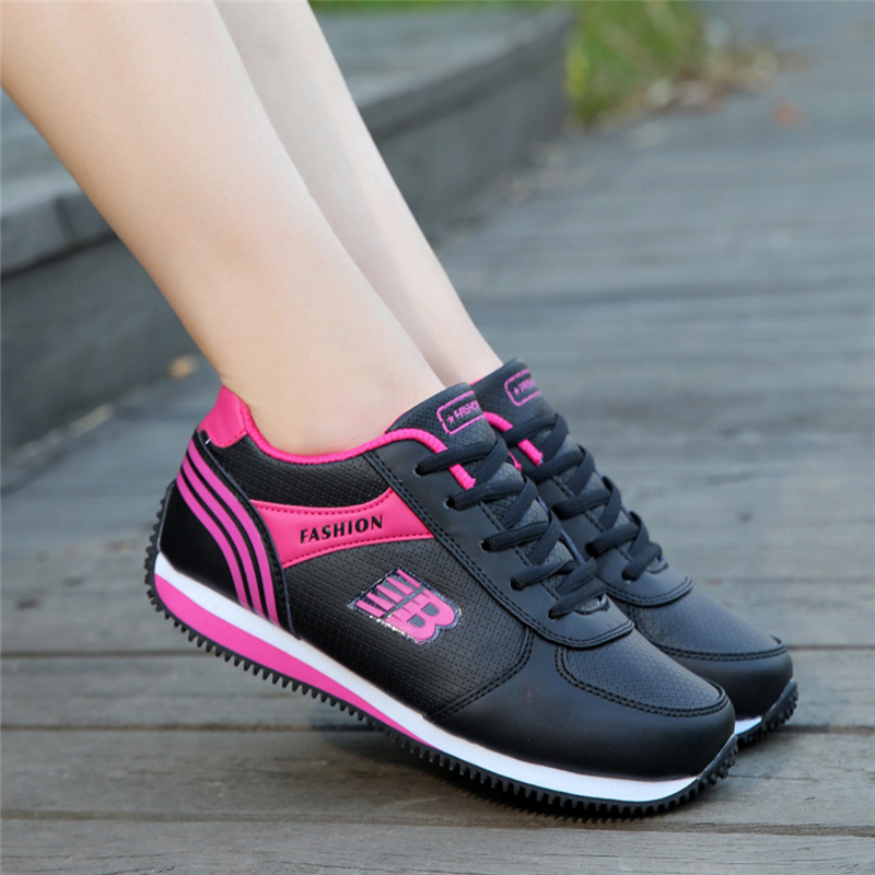 цена 2018 Spring Fashion Korean Women Shoes Tenis Feminino Casual Shoes Outdoor Walking Shoes Women Flats Sneakers Ladies Shoes