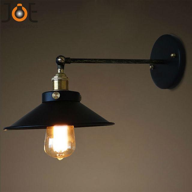 Vintage lampada da parete Applique luci per cucina bagno montaggio a ...