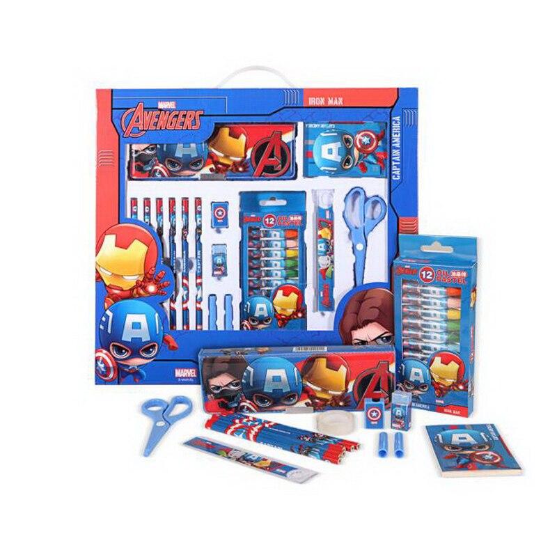 160903-2/Disney Stationery gift set / spree 16 pieces / primary school / children's school supplies/Quality PU fabric цены онлайн