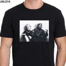 b6361f46d69 Design Legends Tupac Marilyn Monroe 2Pac Men'S Crew Neck Printing Machine
